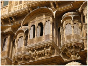 Haveli-Jaisalmer-India