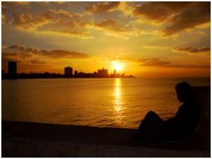 Malecon-Sunset-Havana-Cuba