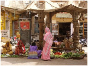 The-Bazaar-Jaisalmer-India